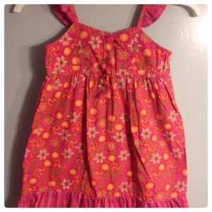 Girl's pink floral sundress 🌺3 for $5 or 2 for $4